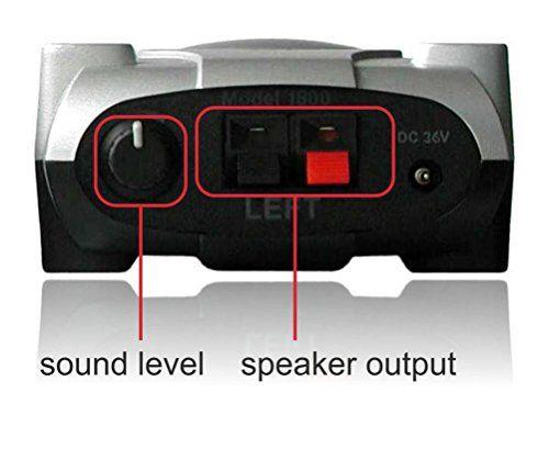 photo Wallpaper of Amphony-Amphony Lautsprecher Funkset Mit Zwei Funkverstärkern, Modell 1800, Macht Zwei Lautsprecher Kabellos, 2x80 Watt,-silber / schwarz