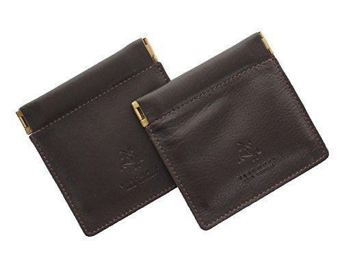 photo Wallpaper of Visconti Leather-Visconti Leder Münzbörse, Zweierpack, Snaptop CP7 Schokolade-Schokolade