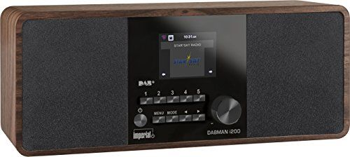 photo Wallpaper of Imperial-Imperial 22 230 00 Dabman I200 Internet/DAB+ Radio (Stereo Sound, UKW, WLAN, LAN, Aux-braun