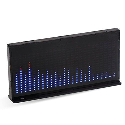 photo Wallpaper of DROK-DROK® AS1424 Musik Spectrum LED Blinkt Kit, LED Anzeige Elektro Ebene TOP Audio-