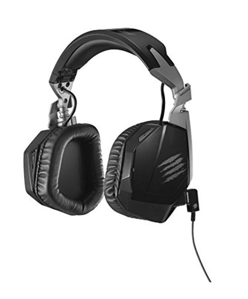 photo Wallpaper of Mad Catz-Mad Catz F.R.E.Q.3 Stereo Gaming Headset, Schwarz-Schwarz