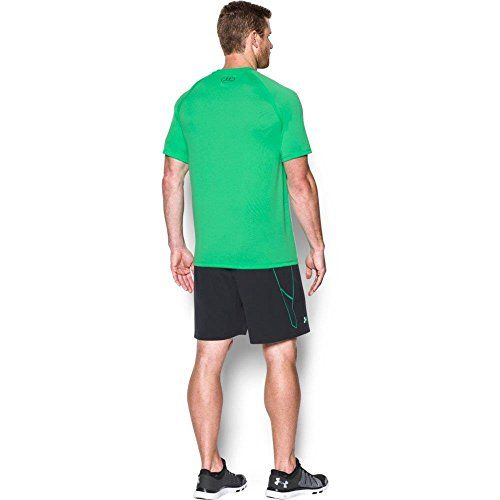 photo Wallpaper of Under Armour-Under Armour Ua Tech Ss Tee Herren Fitness  -Vapor Green/ Stealth Gray (299)