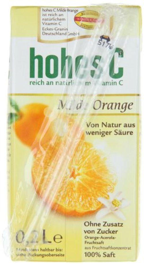 photo Wallpaper of Hohes C-Hohes C Milde Orange   100% Saft, 3 X 0.2 L, 10er Pack-