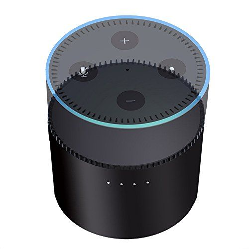 photo Wallpaper of TechCode-TechCode Echo Batteriebasis, Portable Batteriebasis Für Amazon Echo Dot 2 Intelligent 10000mAh Batterieladestation Cradle-
