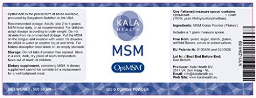 photo Wallpaper of Kala Health-Kala Health   OptiMSM Powder Coarse Flakes (500 G Container). This-