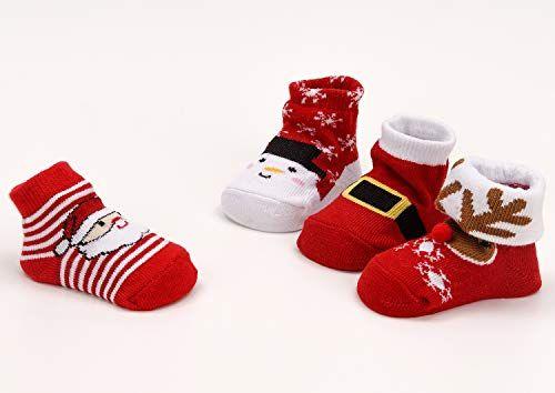 photo Wallpaper of Brubaker-Brubaker 4 Paar Baby Jungen Socken 0 12 Monate   Weihnachten-Weihnachten