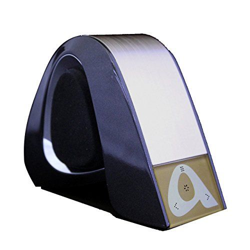 photo Wallpaper of Stoga-Stoga Neues Konzept STS003 Personalisierte Tragbare Lautsprecher Funklautsprecher Stereo Bluetooth Lautsprecher Leistungsstarken Ton-STS003/schwarz+silber