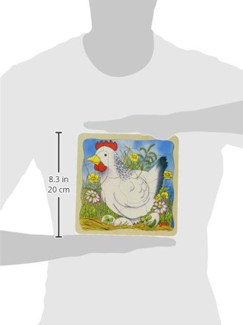 photo Wallpaper of Goki-Goki 57521   Schichtenpuzzle   Das Huhn-