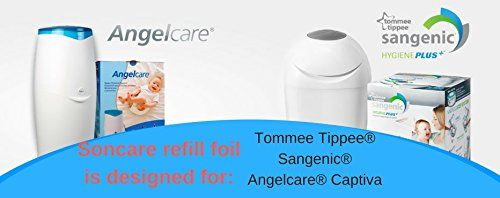 photo Wallpaper of Soncare-Recarga Compatible Sangenic Tommee Tippee Y Sangenic Para Pañales  -