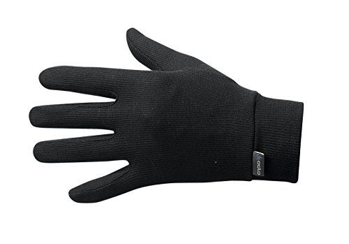 photo Wallpaper of Odlo-Odlo Herren Handschuhe Warm, Black, XL, 10640-black
