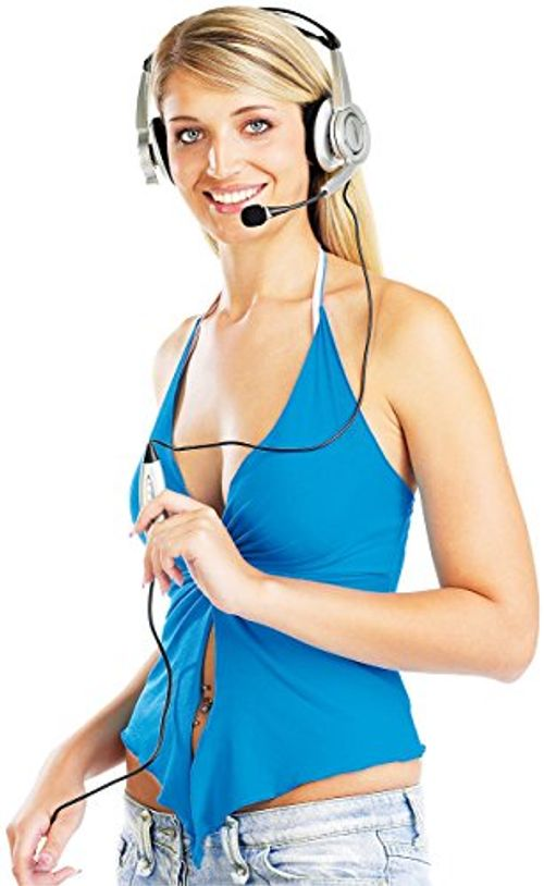 photo Wallpaper of auvisio-Auvisio Headset PC: USB Stereo Headset Mit Virtual 5.1 Surround-silber