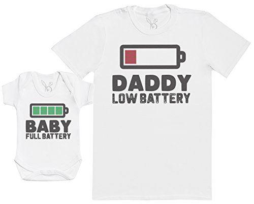 photo Wallpaper of Baby Bunny-Baby Full Battery   Passende Vater Baby Geschenkset   Herren T Shirt-