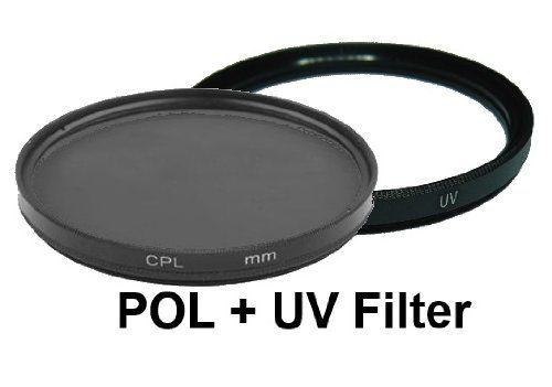 photo Wallpaper of equipster-Equipster UV + Polfilter Set Für Nikon AF S DX Nikkor 18 55mm F3.5-UV-Filter + Polfilter