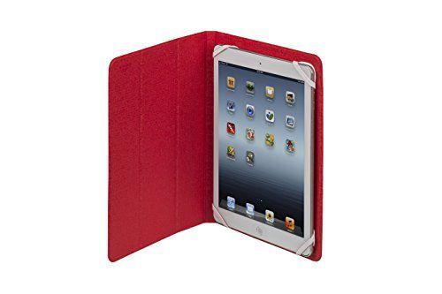 """photo Wallpaper of RivaCase®-RivaCase® Tablet Case Bis 10.1"""" – Sehr Flache Hülle Mit Zwei Farbigen-Weiß/Rot"""
