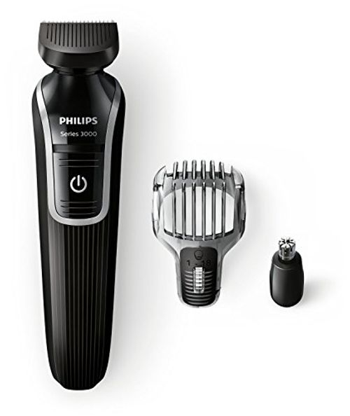 photo Wallpaper of Philips-Philips QG3320/15   Recortador De Barba Y Precisión 3 En 1, Color Negro-Negro