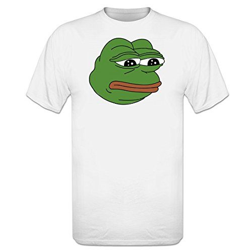 photo Wallpaper of Shirtcity-Shirtcity Pepe Meme The Frog T Shirt By-Weiß