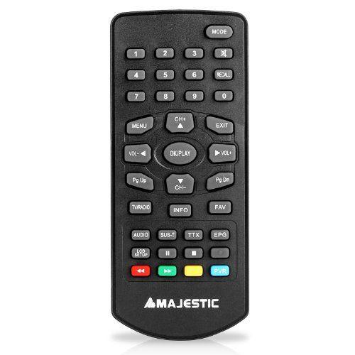photo Wallpaper of Majestic-Audiola-Majestic TVD 934N Tragbarer Fernseher DVB T Minifernseher (USB, SD, 9'' LCD-schwarz