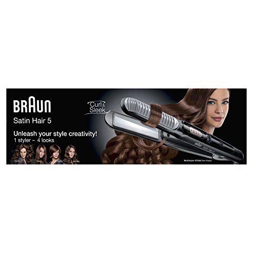 photo Wallpaper of Braun-Braun Satin Hair 5 ST 550   Plancha De Pelo Rizadora-Marrón