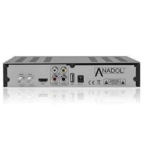 photo Wallpaper of Anadol-Anadol HD 222 Plus HD HDTV Digitaler Satelliten Receiver (Wifi, HDTV, DVB-Mit WLAN mit HDMI Kabel
