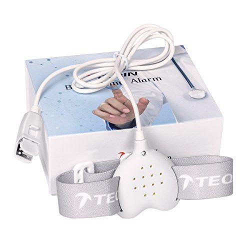 photo Wallpaper of TEQIN-TEQIN Best Care Bedwetting Enuresis Alarm, 3 Funciones Alarma De-Blanco