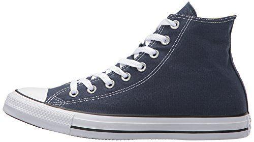 photo Wallpaper of Converse-Converse Chuck Taylor All Star, Unisex Erwachsene Hohe Sneakers, Blau (Navy-Blau (Navy Blue)
