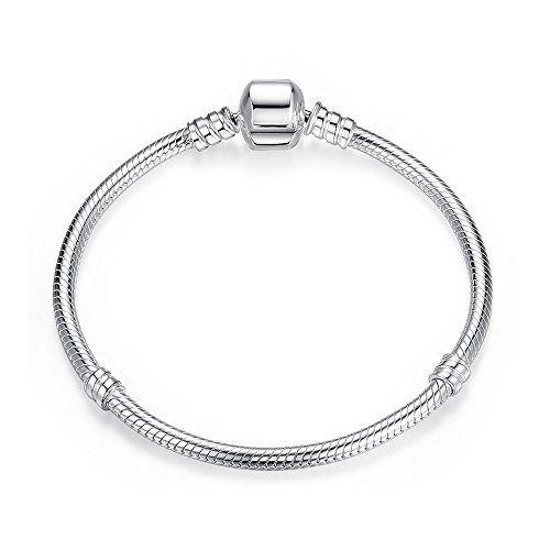 photo Wallpaper of Lovena-Damen Armband Sterling Silber 925 Fits Pandora, BRACELETS Européens Compatible (20 Cm)-