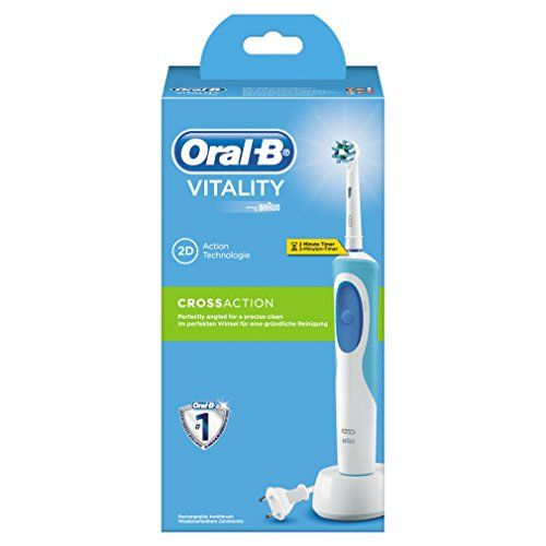 photo Wallpaper of Oral-B-Oral B Vitality Cross Action   Cepillo De Dientes Eléctrico-Azul Y Blanco