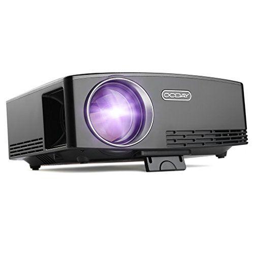 "photo Wallpaper of OCDAY-Mini Beamer, OCDAY Mini Video Projektor LED 1800 ANSI Lumen Lichtausbeute 180""-"
