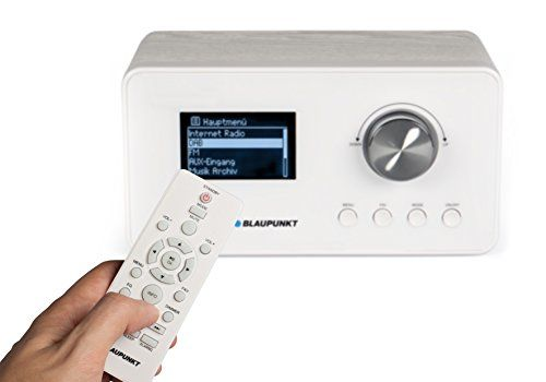 photo Wallpaper of Blaupunkt-Blaupunkt IRD 30 Internetradio (DAB, Digitalradio Mit Wecker, Wlan Küchenradio Als Badradio,UKW Tuner,-Weiß