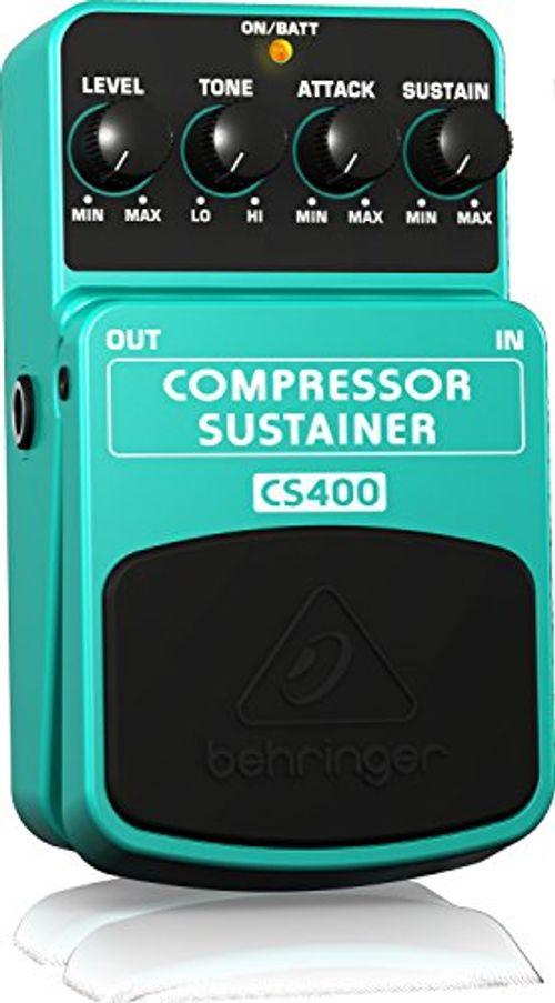 photo Wallpaper of Behringer-Behringer Compressor/ Sustainer CS400 Ultimatives Dynamik Effektpedal-