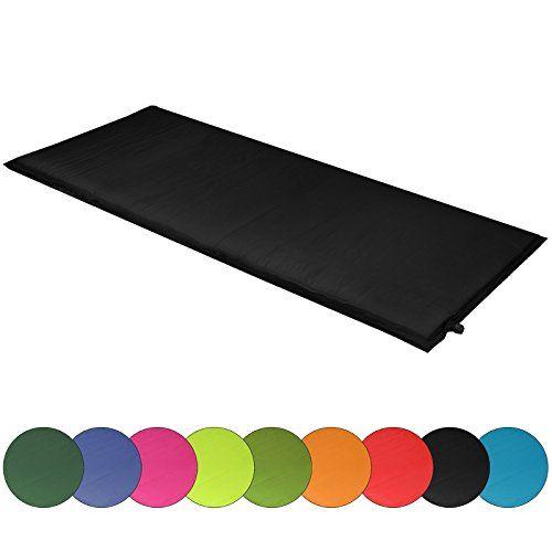 photo Wallpaper of ALPIDEX-ALPIDEX Isomatte Selfinflating Matte Selbstaufblasende Outdoor Thermomatte In Verschiedene Größen Und Farben,-black