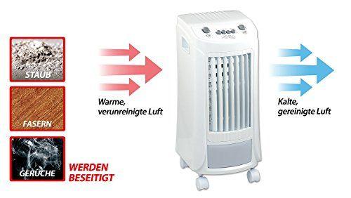 photo Wallpaper of Sichler Haushaltsgeräte-Sichler Haushaltsgeräte Klimagerät Wasserkühlung: Luftkühler Mit Wasserkühlung LW 440.w, 65 Watt, Swing-
