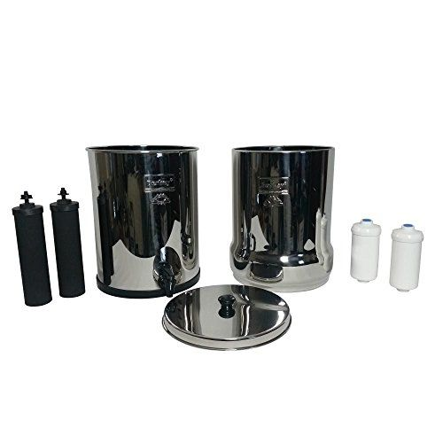 photo Wallpaper of Berkey-Royal Berkey Water Filter Complete With 2 Black Purifiers Elements With 2 PF 2-