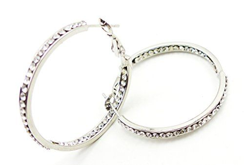 photo Wallpaper of Evil Wear-Ohrringe Damen Ohrring Set Silber Creolen Der Oberklasse! Ohrringe Mit Echten-silver