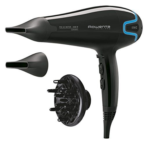 photo Wallpaper of Rowenta-Rowenta Infini Pro Beauty CV8730E0   Secador Con Motor-Negro