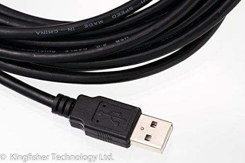 photo Wallpaper of What Accessory-Kingfisher Technology 2m USB PC Kabel/schnell Daten Synch, Schwarz, Adapter Für Teac Tascam Uh-Schwarz