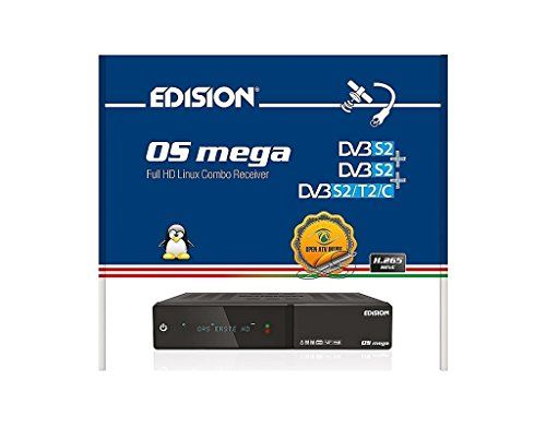 photo Wallpaper of EDISION-Edision OS Mega 2xDVB S2 1xDVB S2/C/T2 HD H.265 HEVC E2 Linux-