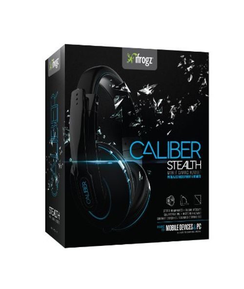 photo Wallpaper of ZAGG-CALIBER STEALTH By IFrogz   Mobile Gaming Headphones With Mic (Mobile Devices &-schwarz