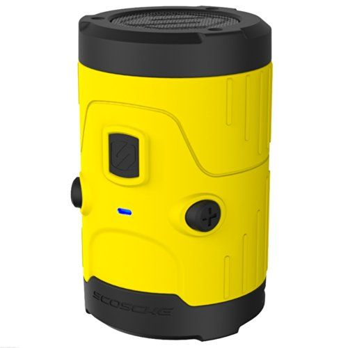 photo Wallpaper of Scosche-SCOSCHE   BoomBottle H2O IPX7 Wasserdichter Bluetooth Lautsprecher 5 Watt I IOS &-Gelb