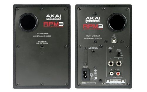 photo Wallpaper of AKAI Pro-AKAI Professional RPM3  Portable, Professionelle Produktions Monitore Mit Eingebautem 2x2 USB Audio Interface-
