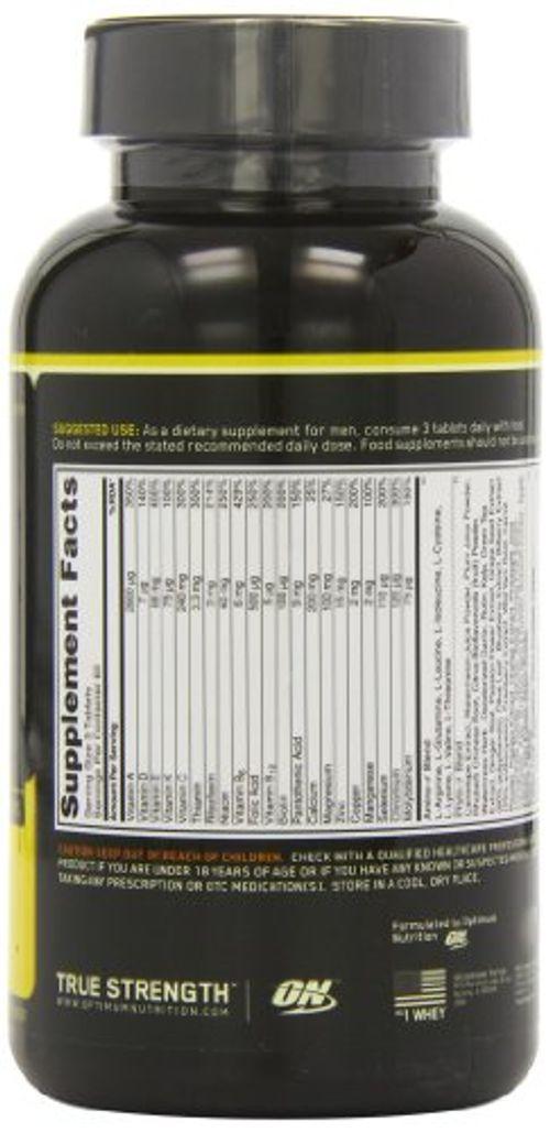photo Wallpaper of Optimum Nutrition-Optimum Nutrition Opti Men Multivitamin Capsules Pack Of 180-Na
