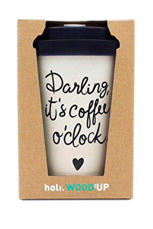 photo Wallpaper of holi.-Holi. Coffee To Go Bambus Becher Mit Schraubdeckel, Verschluss Möglichkeit | Woodcup Kaffeebecher-Darling New Black