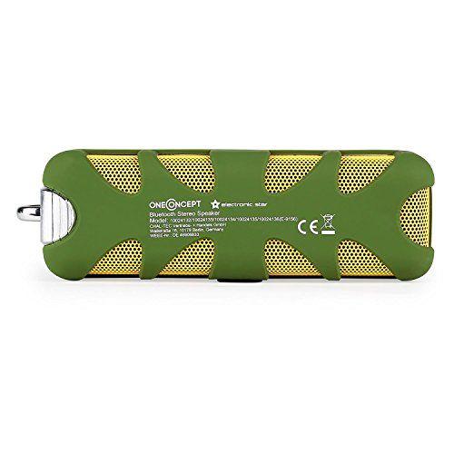 photo Wallpaper of OneConcept-OneConcept • Green Know • Mobiler Außenlautsprecher • Bluetooth Lautsprecher • Akku Box-grün