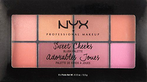 photo Wallpaper of NYX-NYX Professional Makeup Sweet Cheeks Blush Powder Palette 01 28g-