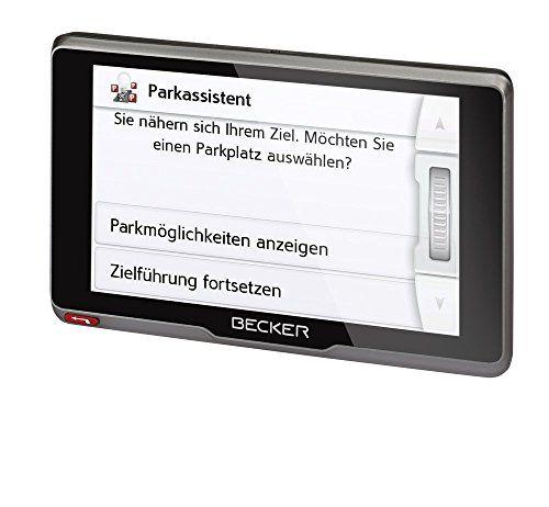 photo Wallpaper of Becker-Becker Active.6s CE Navigationsgerät (15,8 Cm ( 6,2 Zoll ) Kapazitives Echtglasdisplay, 20 Länder,-Schwarz