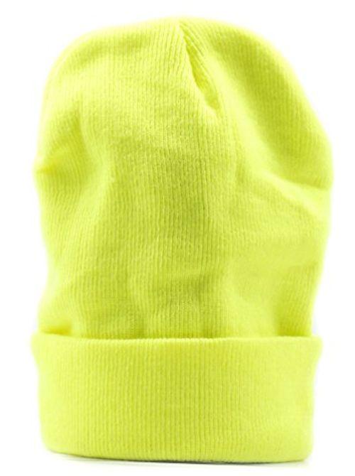 photo Wallpaper of Wasserfarm-Mütze NEON SIGNAL Winter Muetze Herren Damen Gelb Snowboard Wollmütze TOP-gelb