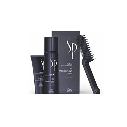 photo Wallpaper of Wella-Wella SP Para Hombre Gradual Tone Marrón 60 ml + Champú,-marrón