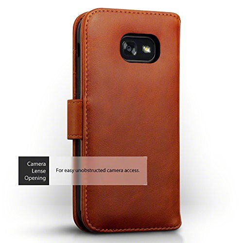 photo Wallpaper of TERRAPIN-Galaxy A5 2017 Case, Terrapin [ECHT LEDER] Brieftasche Case Hülle Mit Kartenfächer Und Bargeld-Cognac