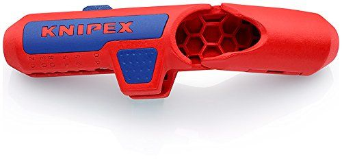 photo Wallpaper of Knipex-KNIPEX 16 95 01 ErgoStrip   Universal 3 In1-Blau, Rot