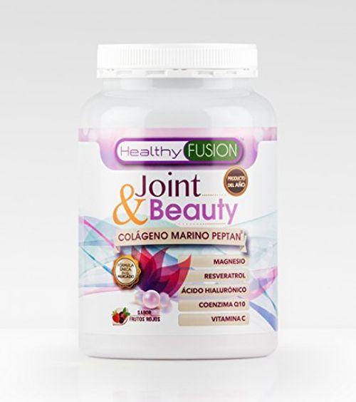 photo Wallpaper of Healthy Fusion-Colágeno Marino Hidrolizado Peptan + Ácido Hialurónico Asimilado + Magnesio Puro + Coenzima Q10-Rosa